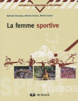 La femme sportive - de boeck superieur - 9782804101626 -