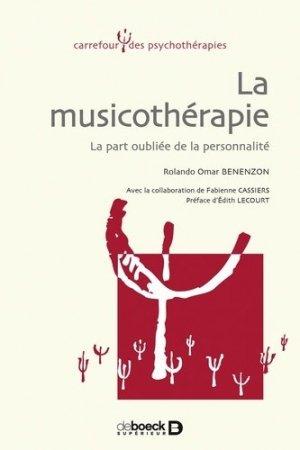 La musicothérapie - de boeck superieur - 9782804146702 -