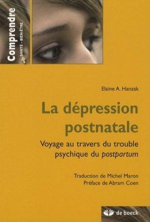La dépression postnatale - de boeck superieur - 9782804153311 -