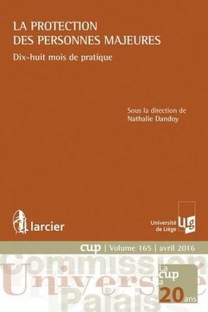 La protection des personnes majeures - Larcier - 9782804486365 -