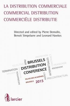 La distribution commerciale - Larcier - 9782804487645 -
