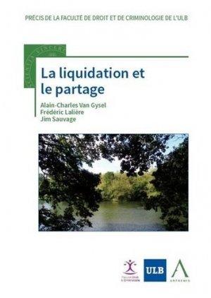 La liquidation et le partage - Anthemis - 9782807207844 -