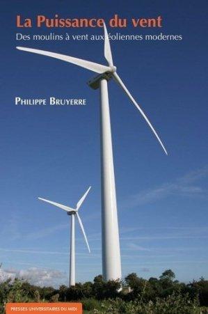 La puissance du vent - presses universitaires du mirail  - 9782810706754 -