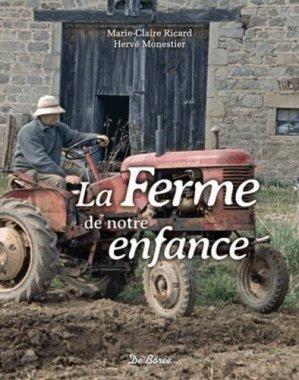 La ferme de notre enfance - de boree - 9782812915000 -