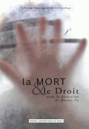 La Mort et le Droit - Presses Universitaires de Nancy - 9782814300330 -