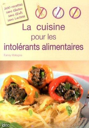 La cuisine pour les intolérants alimentaires - ideo - 9782824604282 -