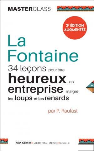 La Fontaine : 34 leçons pour être heureux en entreprise malgré les loups et les renards - maxima - 9782840019732