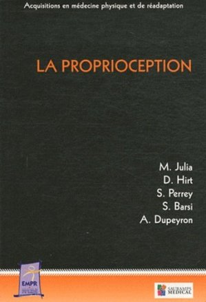 La proprioception - sauramps medical - 9782840237686 -