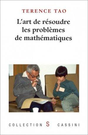 La résolution des problèmes de mathématiques : un point de vue personnel - vuibert - 9782842252588 -