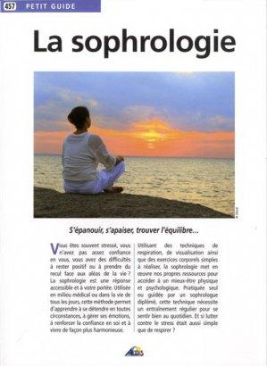La sophrologie - Aedis - 9782842599362 -