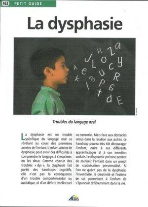 La dysphasie - aedis - 9782842599430