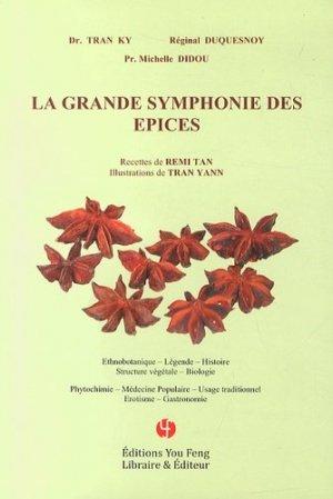 La Grande symphonie des épices - you feng - 9782842795894 -