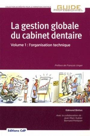 La gestion globale du cabinet dentaire - cdp - 9782843611605 -