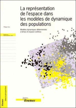 La représentation de l'espace dans les modèles de dynamique des populations - ifremer - 9782844330611 -