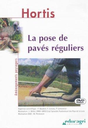 La pose de pavés réguliers - educagri - 9782844443182 -