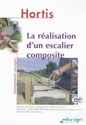 La réalisation d'un escalier composite - educagri - 9782844443205 -