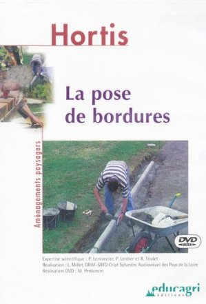 La pose de bordures - educagri - 9782844443212 -