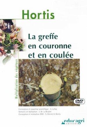 La greffe en couronne et en coulée - educagri - 9782844443434 -