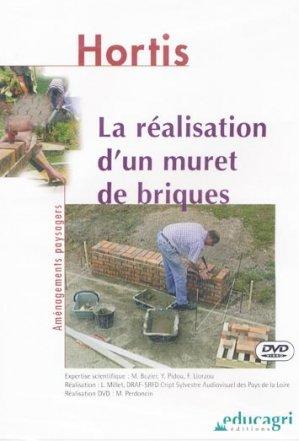 La réalisation d'un muret de briques - educagri - 9782844443564 -