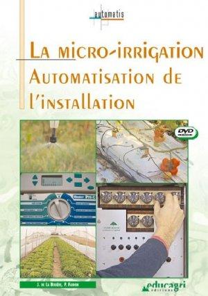 La micro-irrigation DVD - educagri - 9782844444615
