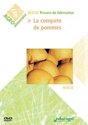 La compote de pommes - educagri - 9782844445889 -