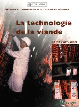 La technologie de la viande - educagri - 9782844447708 -