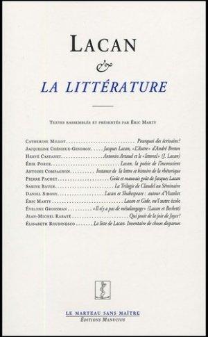 Lacan et la littérature - Editions Manucius - 9782845780446 -
