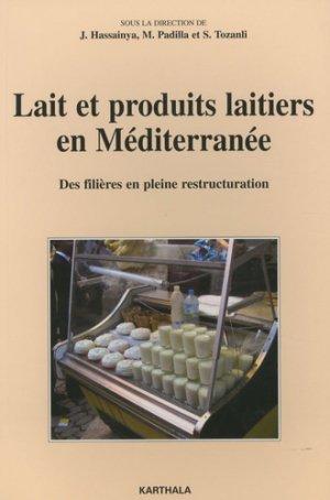 Lait et produits laitiers en Méditerranée - karthala - 9782845868045 -