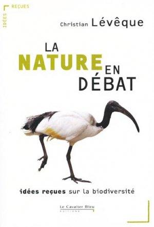 La Nature en débat - le cavalier bleu - 9782846703833 -
