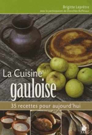 La cuisine gauloise - ysec - 9782846732468 -