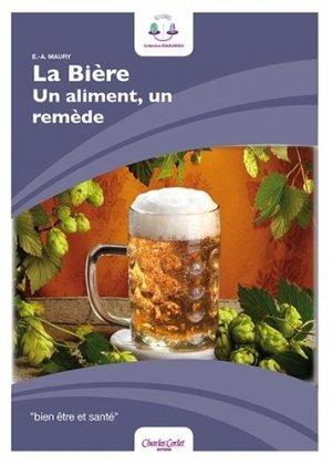 La bière, un aliment, un remède - corlet - 9782847064247 -