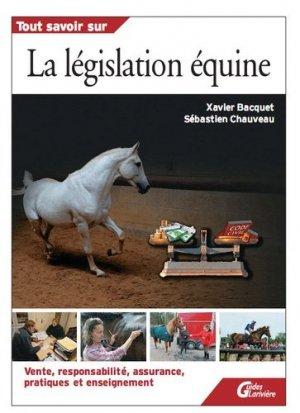 La législation équine - lariviere - 9782848901701 -
