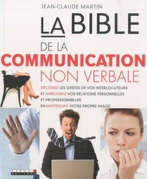 La bible de la communication non verbale - leduc - 9782848993881 -