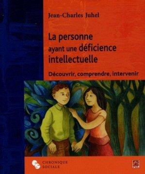 La personne ayant une déficience intellectuelle - chronique sociale - 9782850089206 -