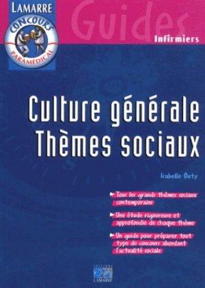 La culture générale thèmes sociaux - lamarre - 9782850305764 -