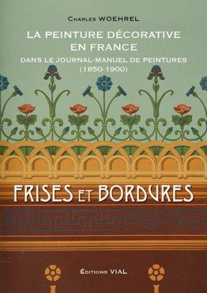 La peinture décorative en France - vial - 9782851011862 -