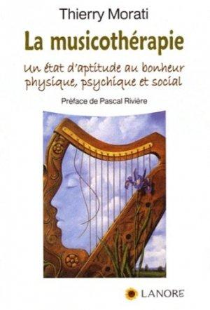 La musicothérapie - fernand lanore - 9782851576590 -