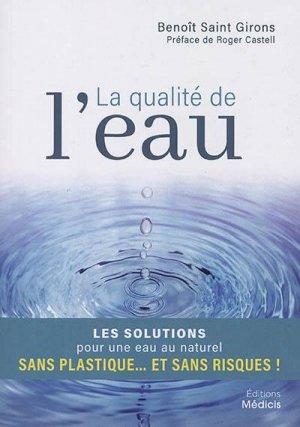 La qualité de l'eau - Médicis - 9782853276955 -