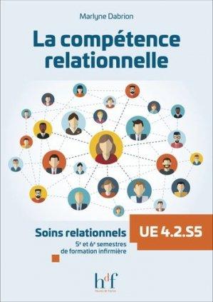 La compétence relationnelle - heures de france - 9782853853682 -