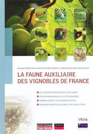 La faune auxiliaire des vignobles de France - france agricole - 9782855572130