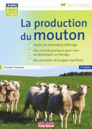 La production du mouton - france agricole - 9782855572154 -