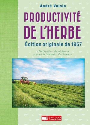 La productivité de l'herbe - france agricole - 9782855575735 -