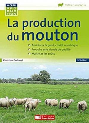 La production du mouton - france agricole - 9782855577395 -