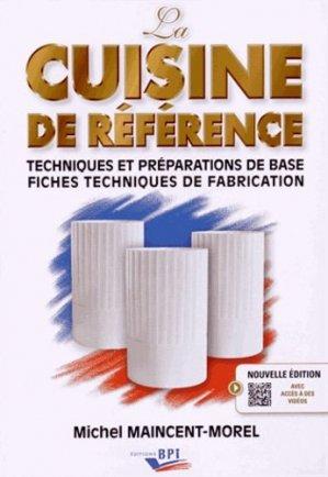 La Cuisine de Référence - bpi - best practice inside  - 9782857085737 -