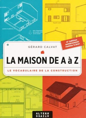 La maison de A à Z - alternatives - 9782862273723 -