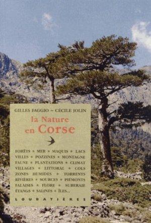 La nature en Corse - loubatieres nouvelles editions  - 9782862666884 -