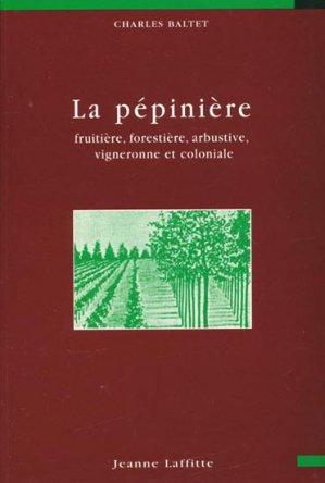 La pépinière - jeanne laffitte - 9782862762647 -