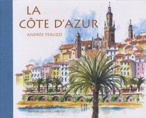 La Côte d'Azur - jeanne laffitte - 9782862764061 -