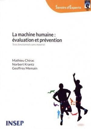 La machine humaine : évaluation et prévention - INSEP Éditions - 9782865802364 -