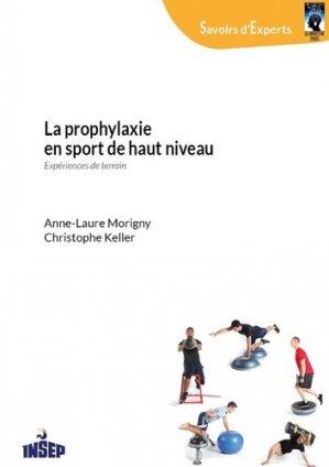 La prophylaxie en sport de haut niveau - insep - 9782865802371